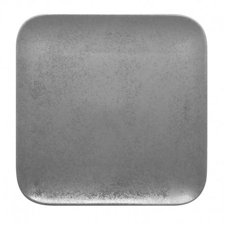 Farfurie patrata, gri, SHALE, 33 x 33 cm
