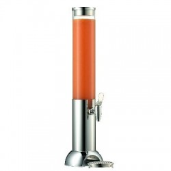 Dispenser suc cu racitor, inox 18/10, 3 litri