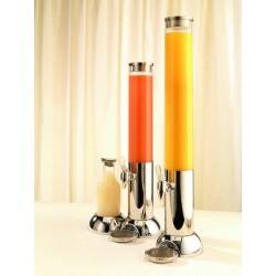 Dispenser suc cu racitor, inox 18/10, 4 litri