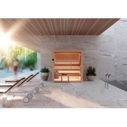 Sauna Nativa Aspen, 150 x 180 cm