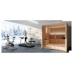 Sauna Libera Glass, 200 x 200 cm