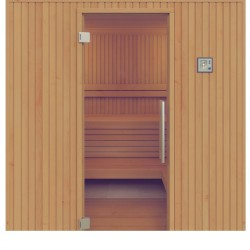 Sauna Familia Aspen, 120 x 180 cm