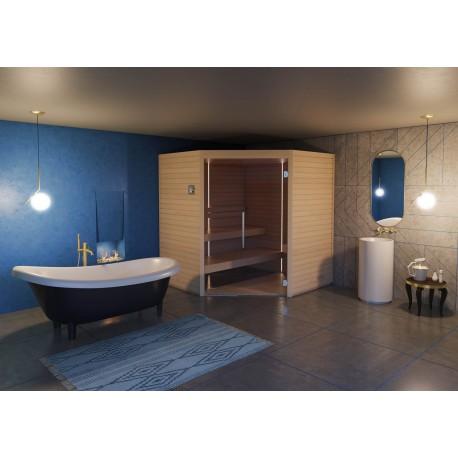 Sauna Varia Aspen, 120 x 120 cm