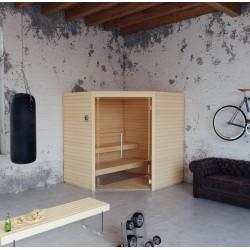 Sauna Varia Aspen, 200 x 200 cm