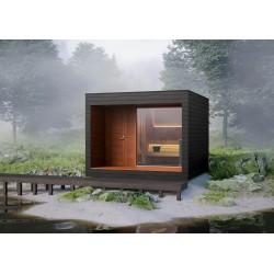 Sauna de exterior, Natura, 350 x 350 cm