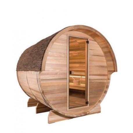 Sauna de exterior, Barrel, 4 persoane