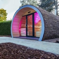 Sauna de exterior, Eclipse XL, 12-18 persoane