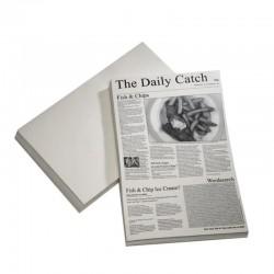 Hartie cerata ziar, 42 x 25 cm
