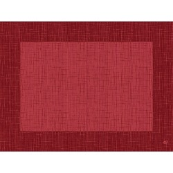 Placemat-uri Linnea Bordeaux, 30 x 40 cm
