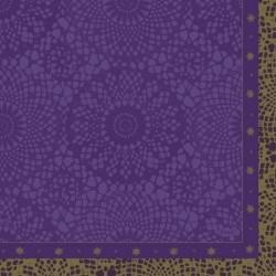 Servetele 3 straturi, 33x 33 cm, Festive Charme Velvet