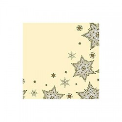 Servete 40X40CM, Glittering Stars Cream