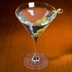 Pahar Martini, Clasic, 250 ml, sticla innobilata
