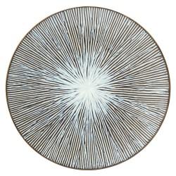 Farfurie Intinsa Allium Sea, 21 Cm, portelan super vitrifiat