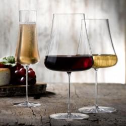 Pahar vin rosu, Zero, 1 litru, sticla innobilata