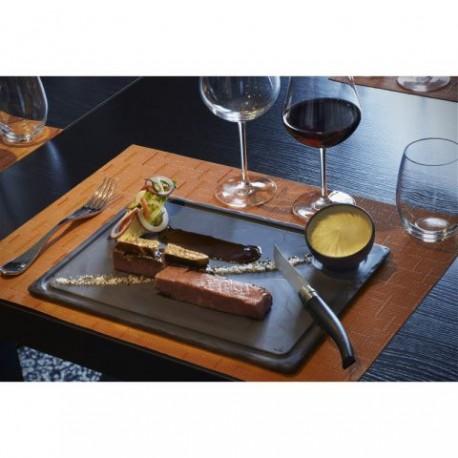 Platou Steak, Basalt,  33 x 24 x 1 cm