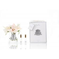 Parfumant camera Premium Flowers Posies Summer Clear cu aranjament floral si 2 rezerve parfum