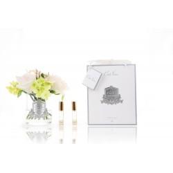 Parfumant camera Premium Flowers Posies Spring Clear cu aranjament floral si 2 rezerve parfum