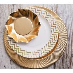 Set Righe Metallic GOLD BRILLIANT pentru catering evenimente 240 persoane