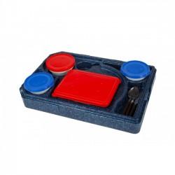 Cutie termoizolanta pentru transport mancare, 530x370x120 mm