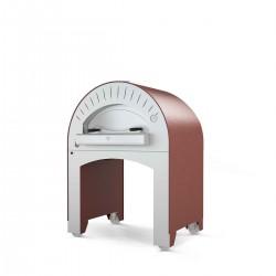 Cuptor profesional pizza, mobil, QUATTRO PRO, pe lemne