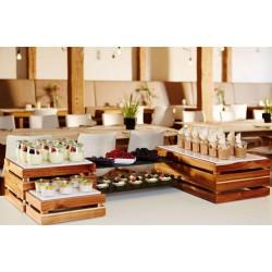 Bufet modular, lemn, SUPERBOX