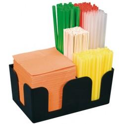 Organizator bar cu 3 compartimente, 24 x 15 x 11 cm