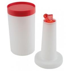 Recipient pentru dozarea si pastrarea cocktailurilor, 850 ml, rosu