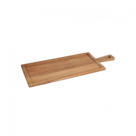 Platou lemn acacia, 56x20x1,5cm