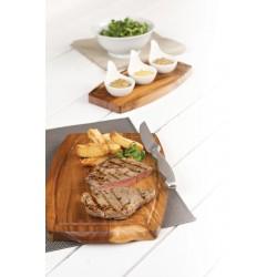 Platou Steak, lemn ACACIA, 34 x 22 cm
