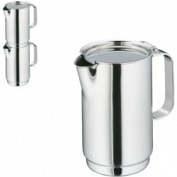 Cafetiera cu capac, PURE, inox cromargan 18/10, 300 ml