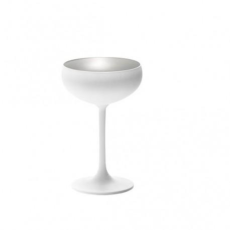 Cupa inghetata, alb si argintiu, Olympic, 230 ml