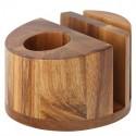 Suport servetele, lemn acacia, 12.5cm