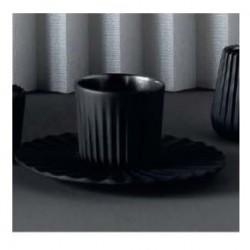 Pahar negru pentru ceai/ cafea, Pekoe, 80 ml
