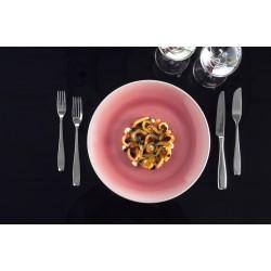 Farfurie intinsa, Vintage Pink, diam 31 cm