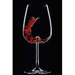 Pahar vin, VULCANO, 485 ml, sticla innobilata