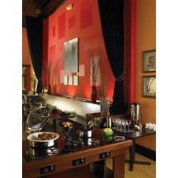 Chafing Dish pentru inductie, INTRIGUE, capac sticla, 5.8 litri