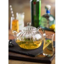 Ceainic cu infuzor, sticla, Illusion, 950 ml