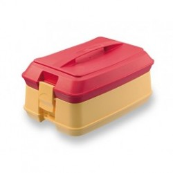 Cutie termica livrare mancare 4 compartimente, 355x241x479 mm