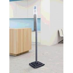 Stand pentru dozator gel dezinfectant, h 1.71 m
