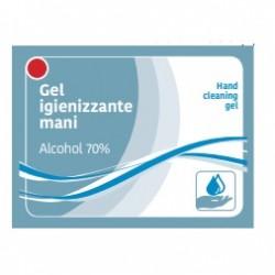 Set 500 pliculete gel igienizant mâini 70% alcool etilic si glicerina 3 ml
