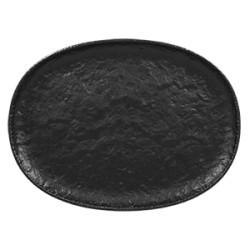 Oval coupe Platou forma trapez l 32 cm/ w 23.5 cm/ h 2.5 cm ROKS