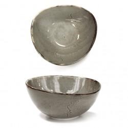 Bol triunghiular 18 cm Vintage Grey