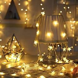Decoratiune luminoasa cu led STEA lumina calda 5 metri