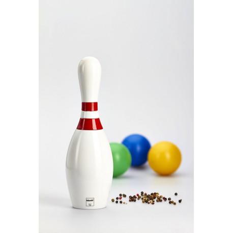 """Rasnita """"Popica Bowling"""", Alb Lucios, 23 Cm"""