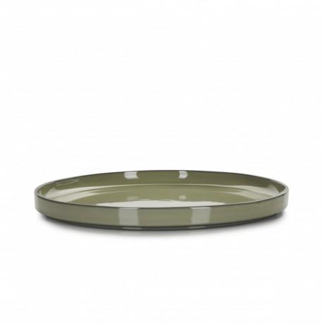 Farfurie intinsa, CARACTERE, diam. 15 cm, verde