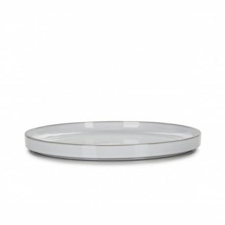 Farfurie intinsa, CARACTERE, diam. 28 cm, alba