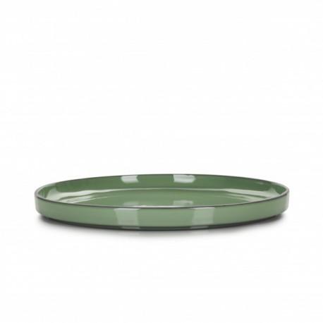 Farfurie intinsa, CARACTERE, diam. 30 cm, verde menta